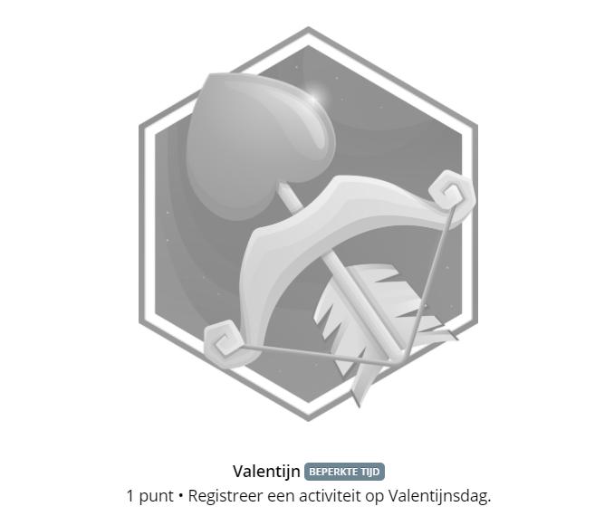 Garmin Valentijn badge 2020