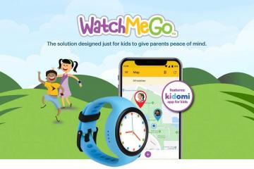 WatchMeGo sprint tracker kinderen