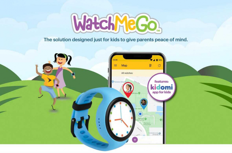 WatchMeGo sprint tracker kinderen