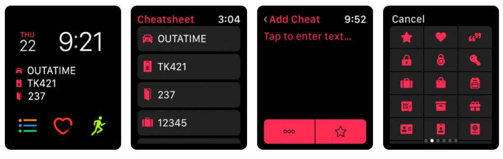 Apple Watch notities maken kladblog app 2020