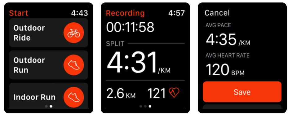 Strava Apple Watch app 2020 beste apps