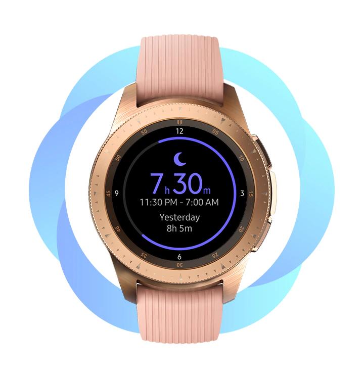 Samsung Galaxy Watch om mee te wandelen hiken