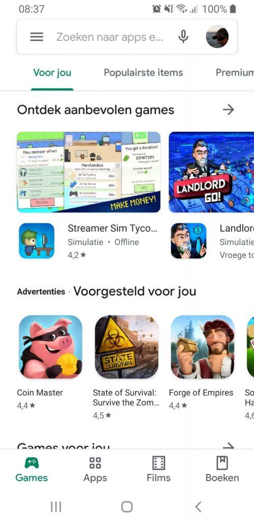Suunto app installeren playstore google