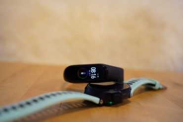 Garmin Mi Band test GPS hardlopen