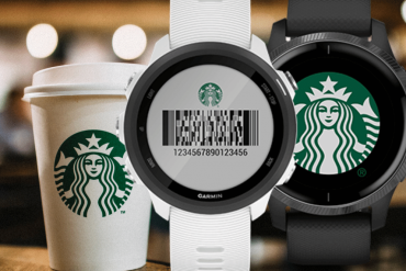 Garmin Starbucks app barcode connect
