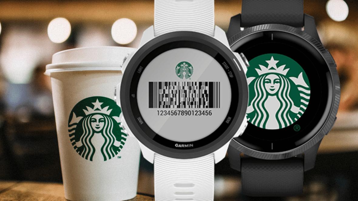 Garmin Starbucks app barcode connect