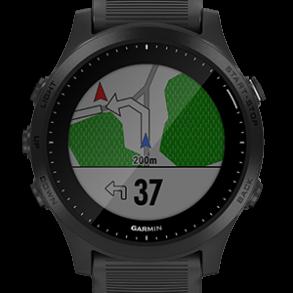 Afslag navigatie Forerunner 945 Garmin review