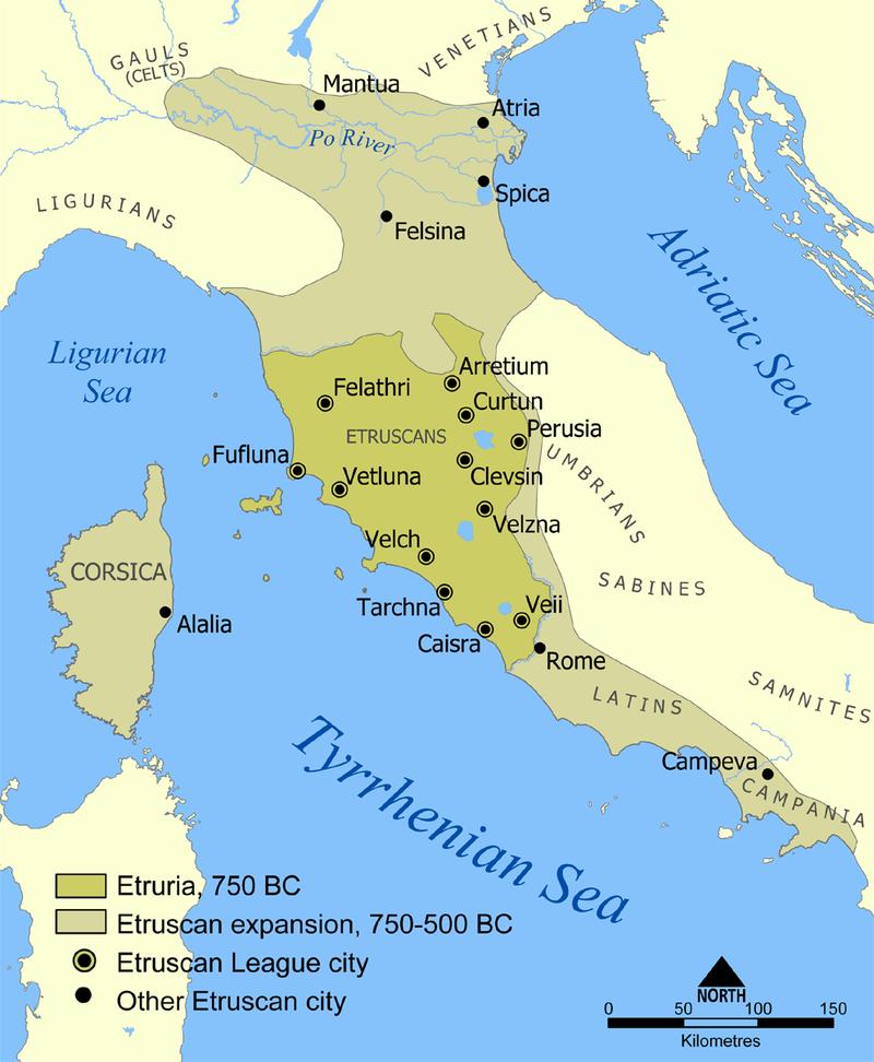 Etruskisch rijk