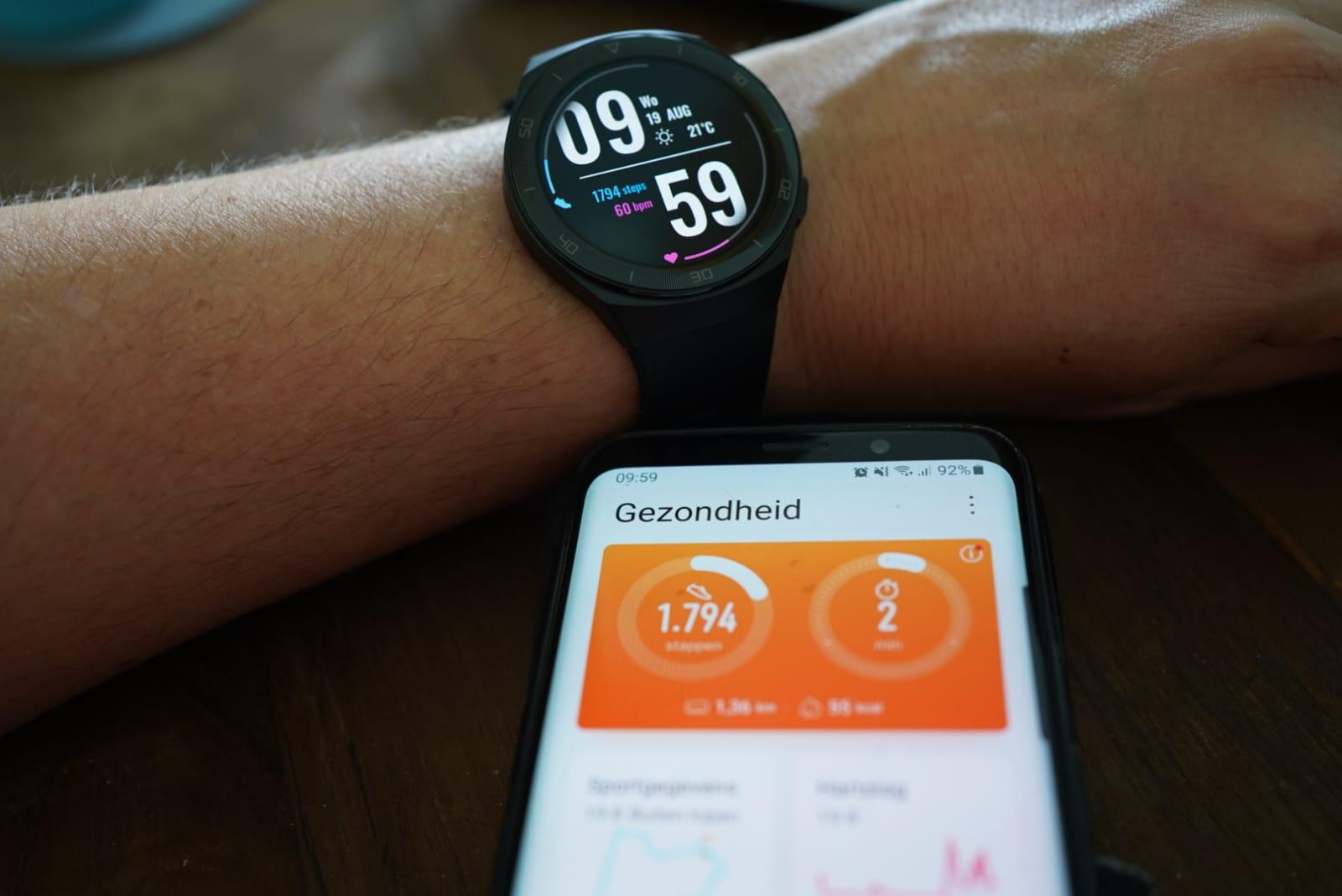 Gezondheid app Huawei GT2