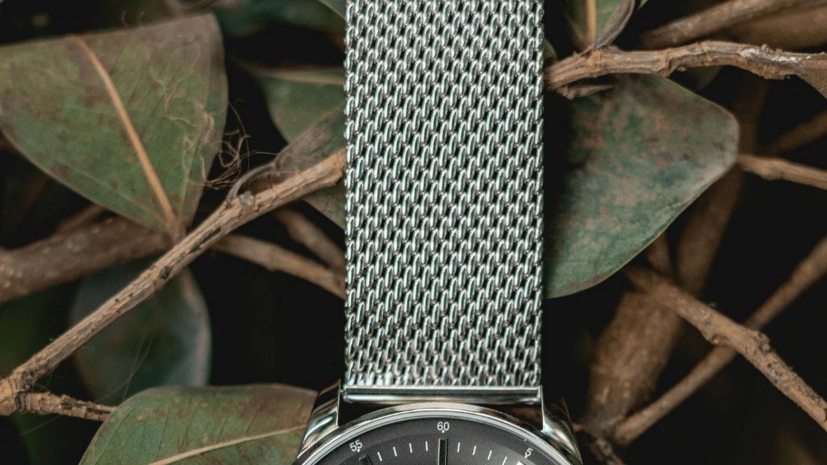 Mesh milanees horlogebandje