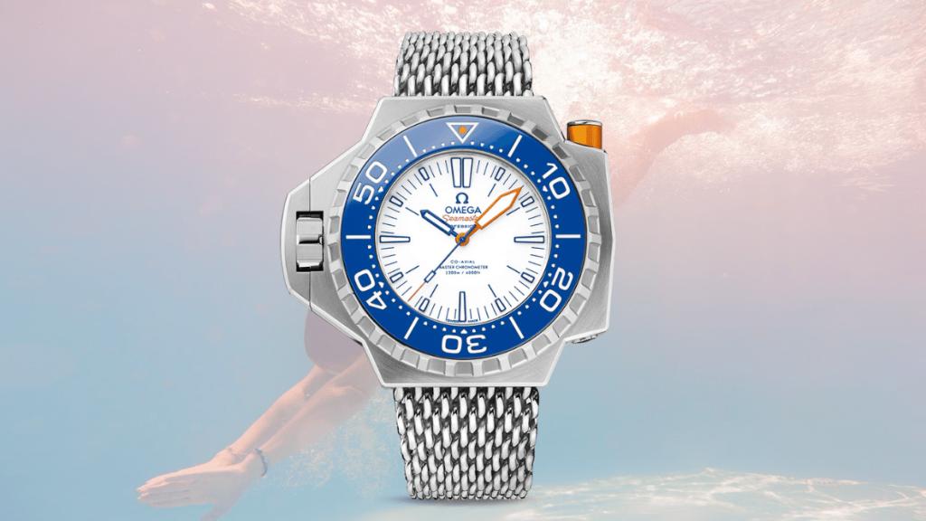 Omega Seamaster Mesh horloge
