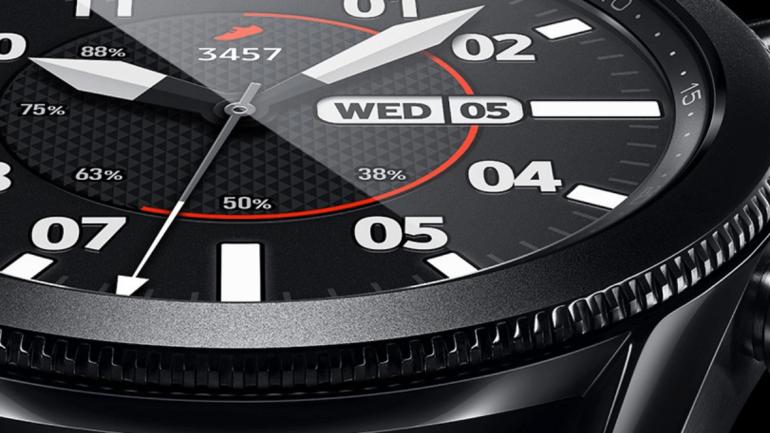Samsung Galaxy Watch 3 sporten