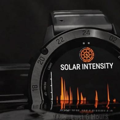 Solarhorloges solar smartwatches kopen Garmin Instinct Tactical zon