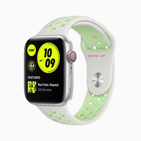 Bandje Apple Watch Series 6 groen