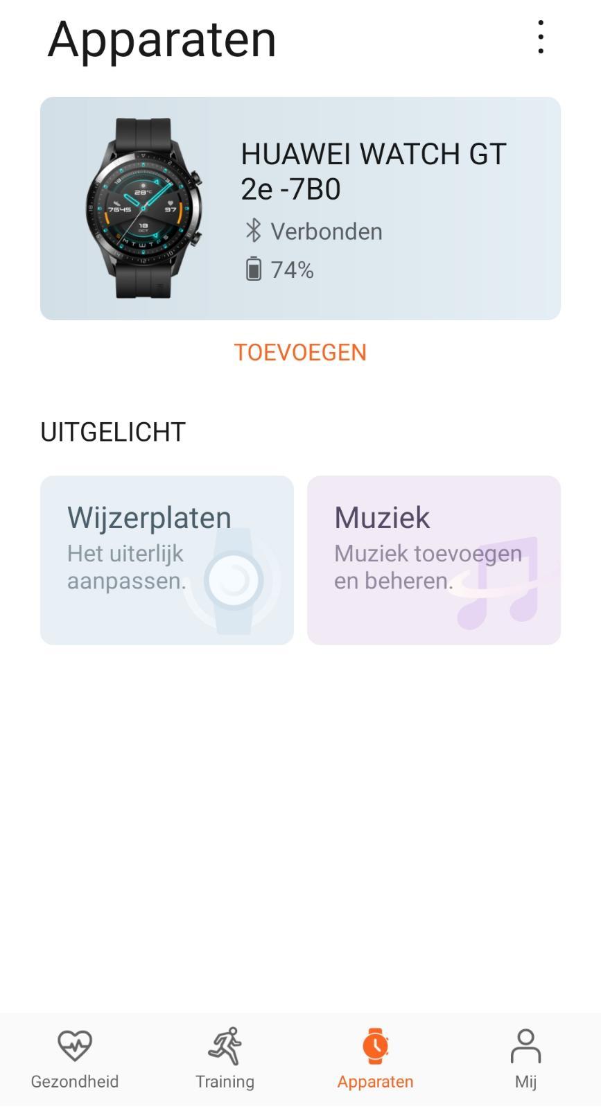 Muziek toevoegen aan smartwatch