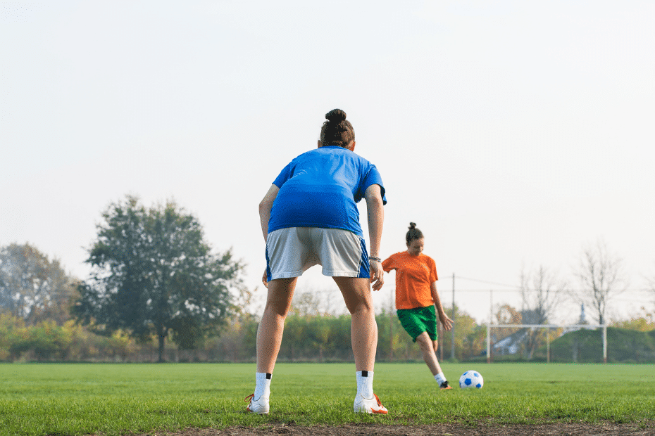 Vrouwenvoetbal oranje horloge