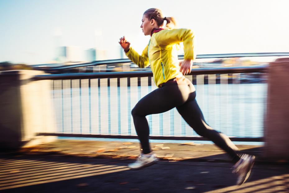 Interval hardlooptraining met een Garmin sporthorloge