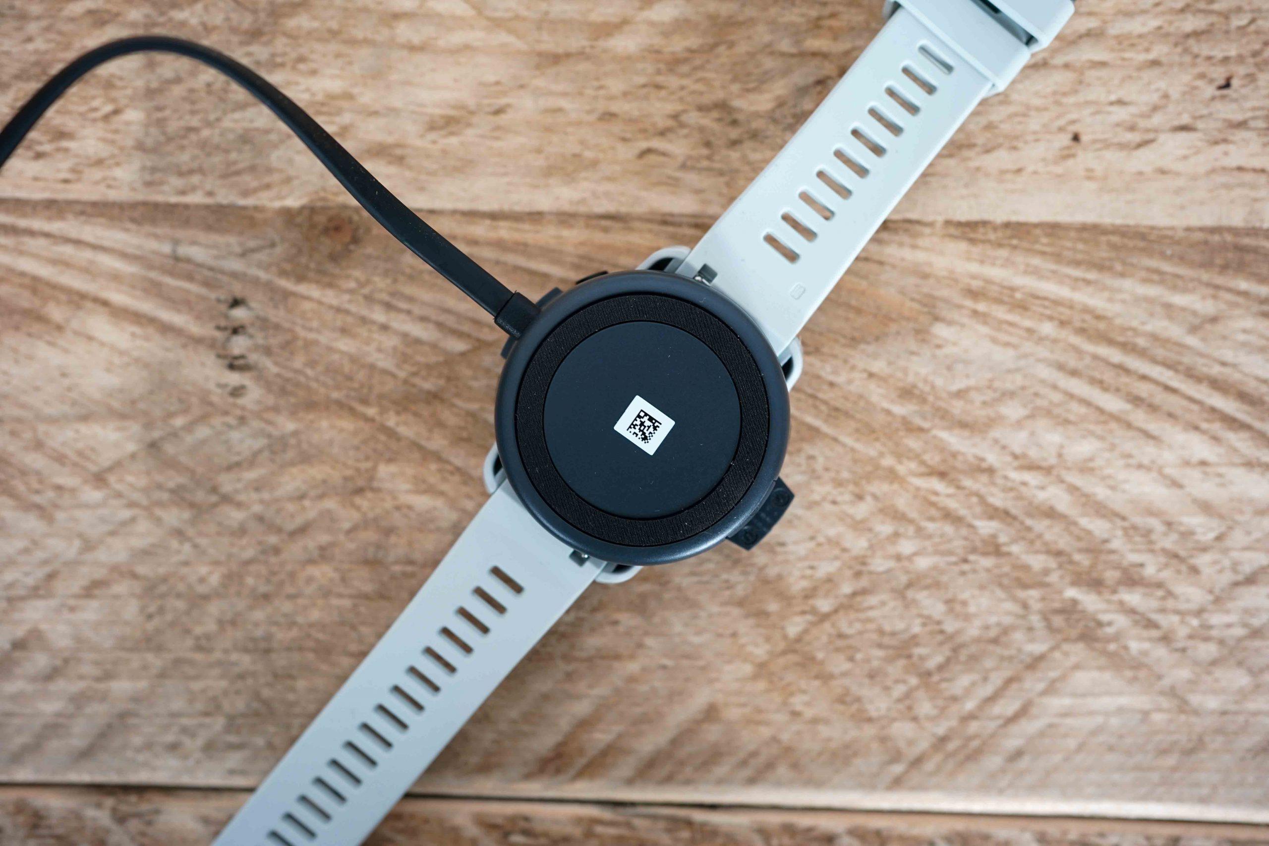 QR Code Wahoo ELEMNT Rival GPS horloge