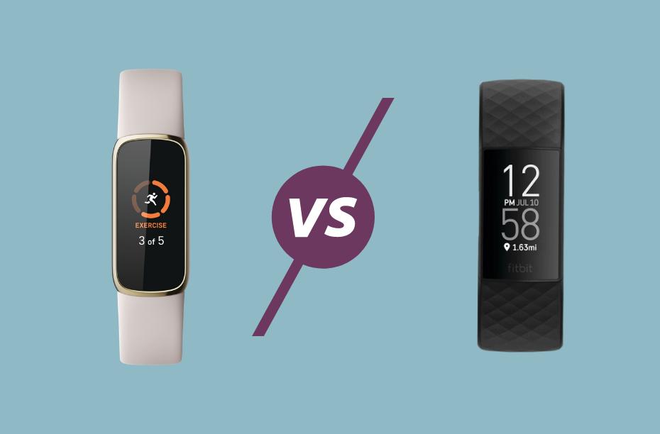 Fitbit Luxe vs Fitbit Charge 4 vergeleken verschillen en overeenkomsten