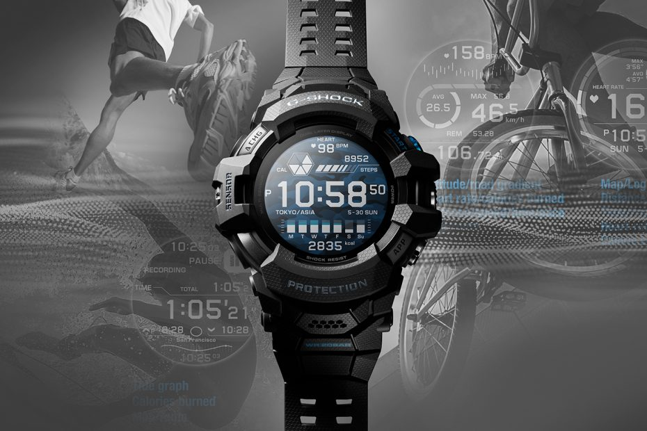 Casio G-shock GSW-H1000 smartwatch