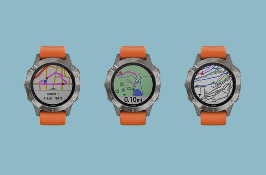 Horloge GPX navigatie GPS hiken wandelen