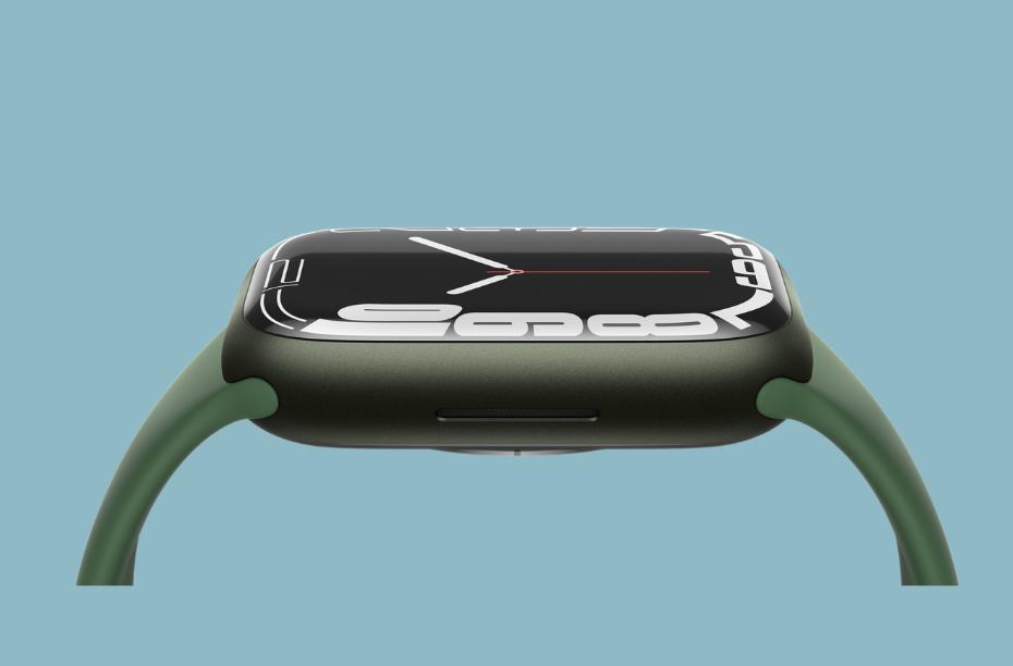 Apple Watch Series 7 scherm dikker